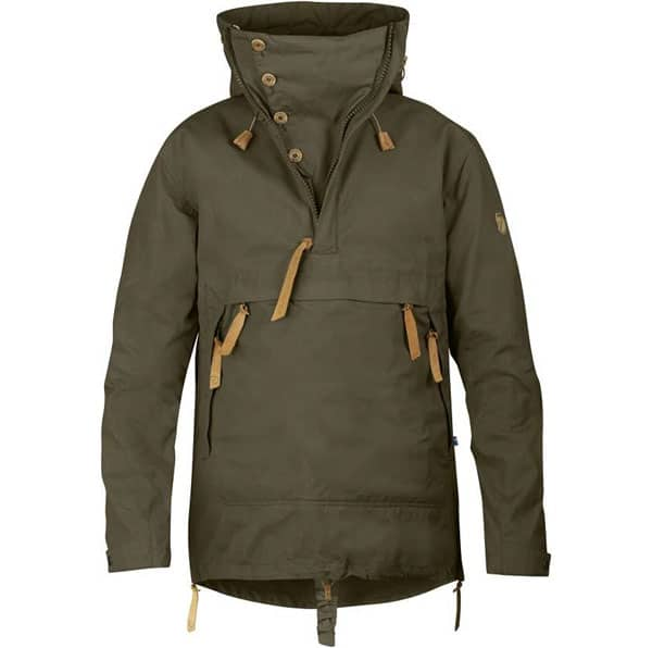 Fjallraven green jacket