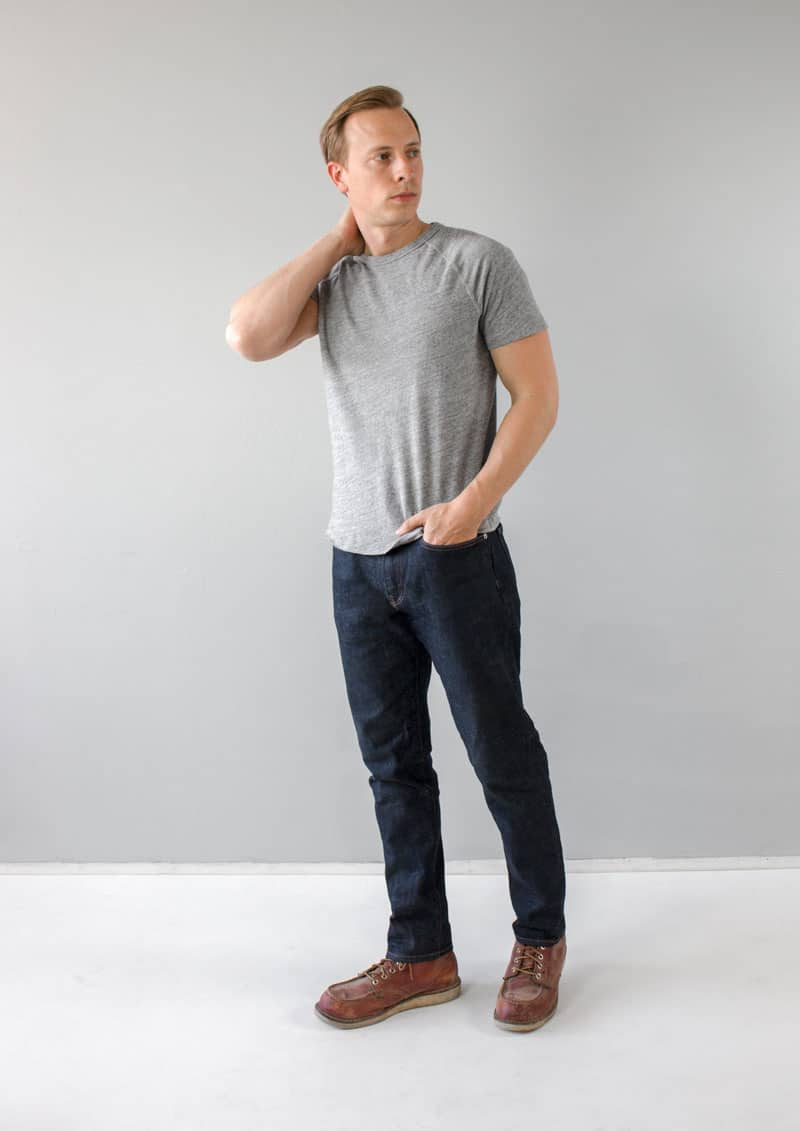 Gap Athletic Taper Jeans review red wing moc toe gray tshirt mens style