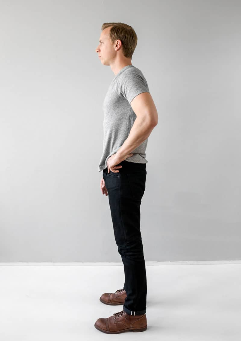 gap slim selvedge black jeans