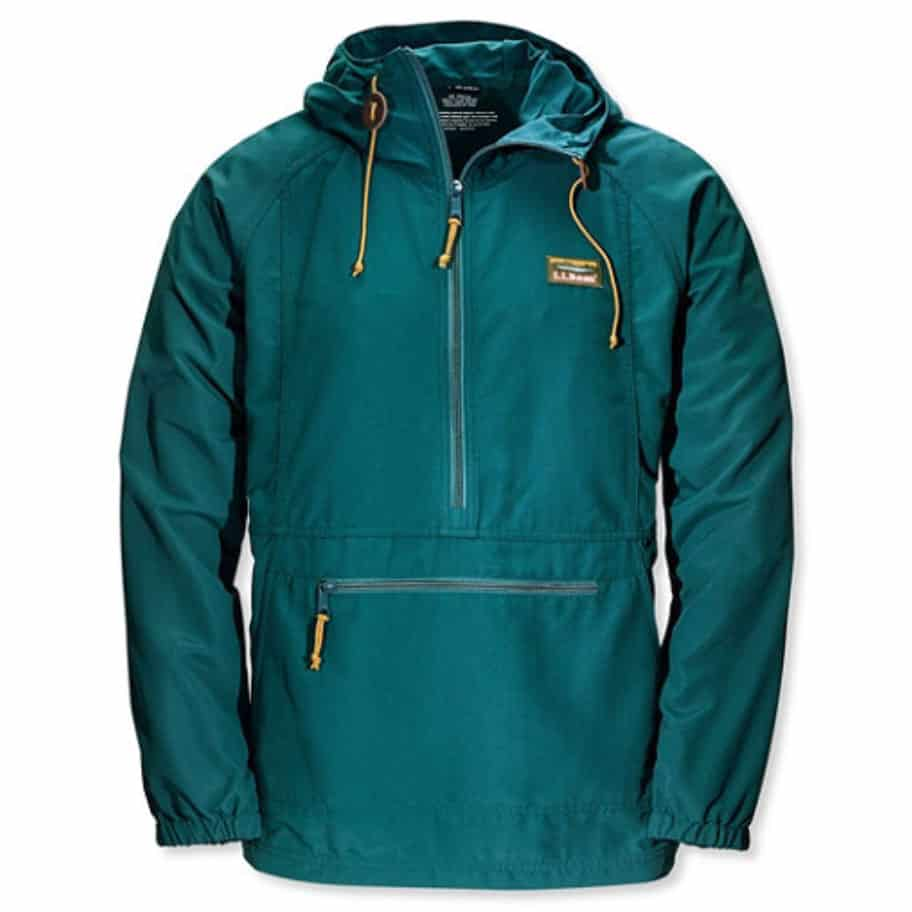 Teal blue jacket LLBean