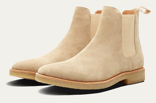 mark mcnairy chelsea suede boots