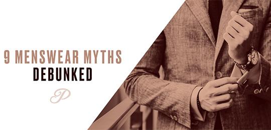 Menswear myths debunked