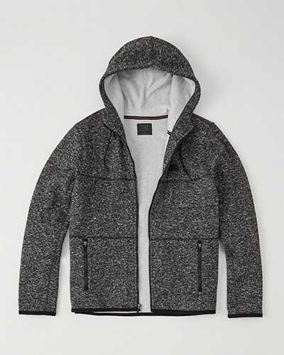Dark gray workout hoodie