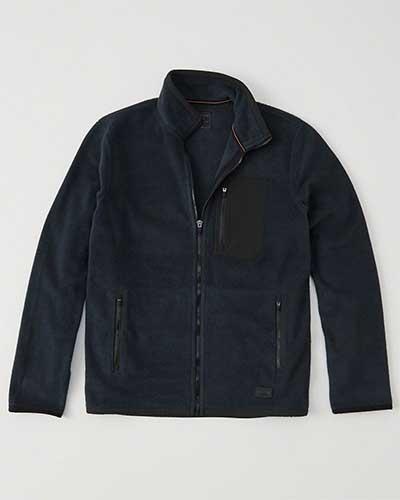 Moc neck jacket