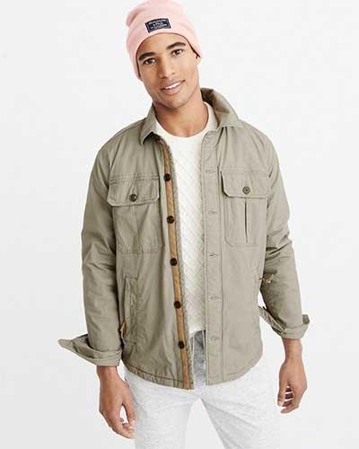 A light tan jacket