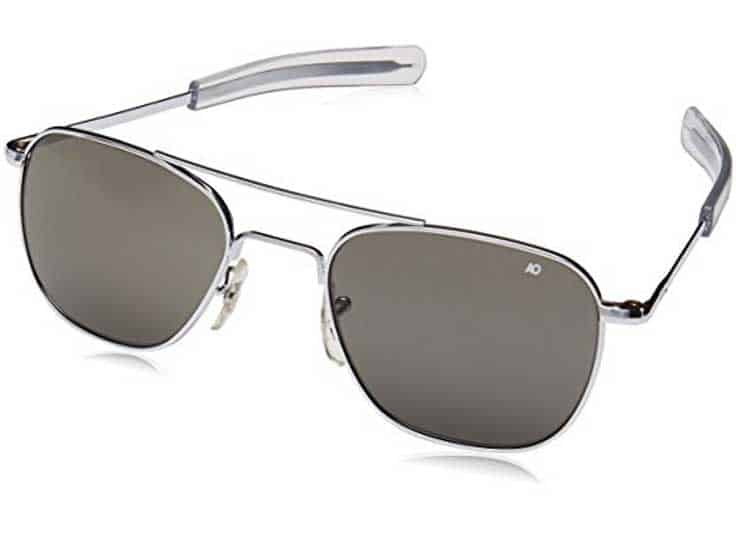 square frame aviator