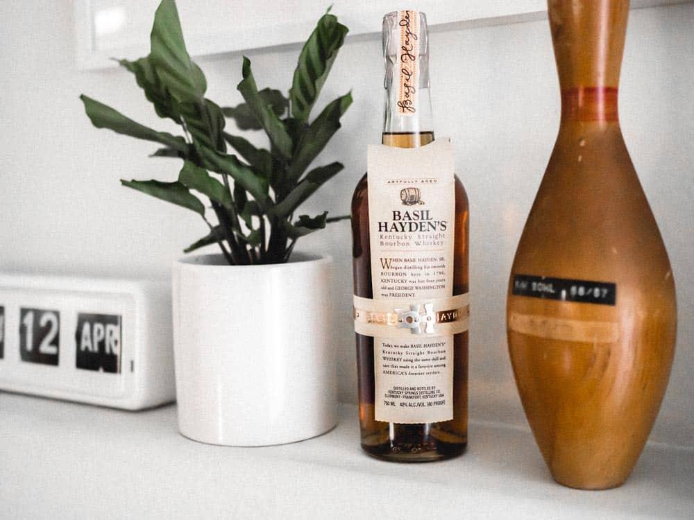basil hayden best bourbon under 50