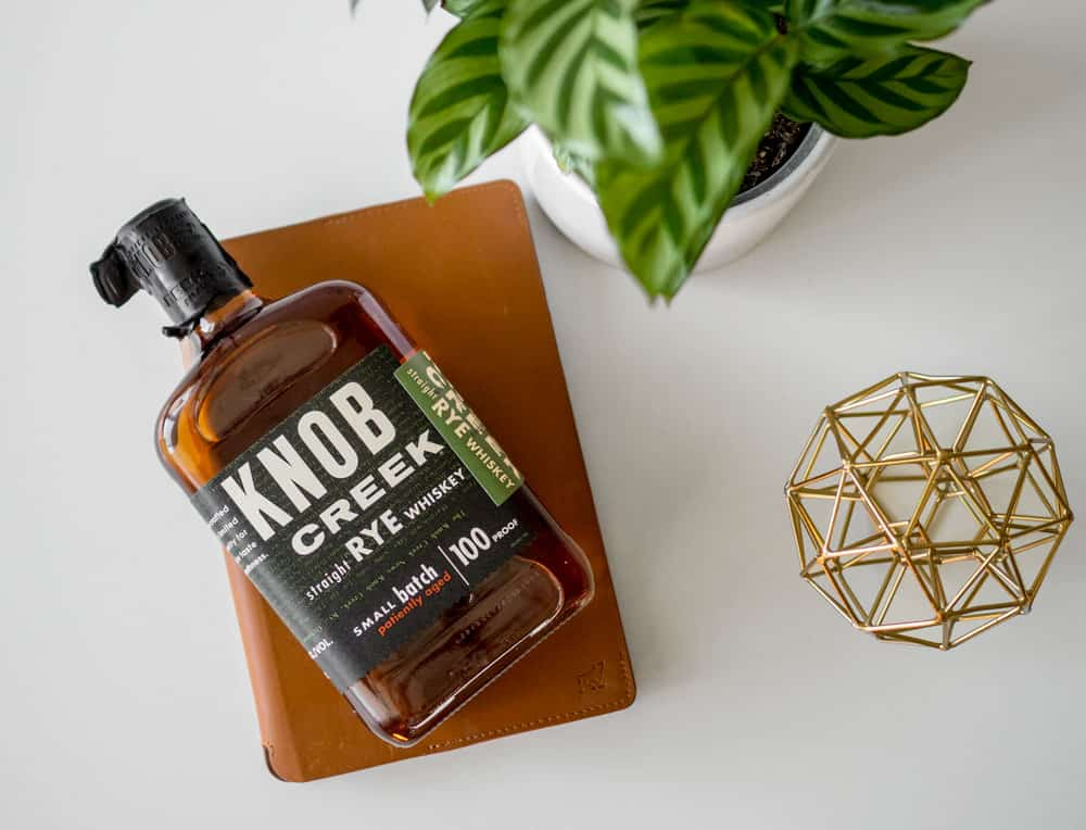 knob cree small batch rye whiskey