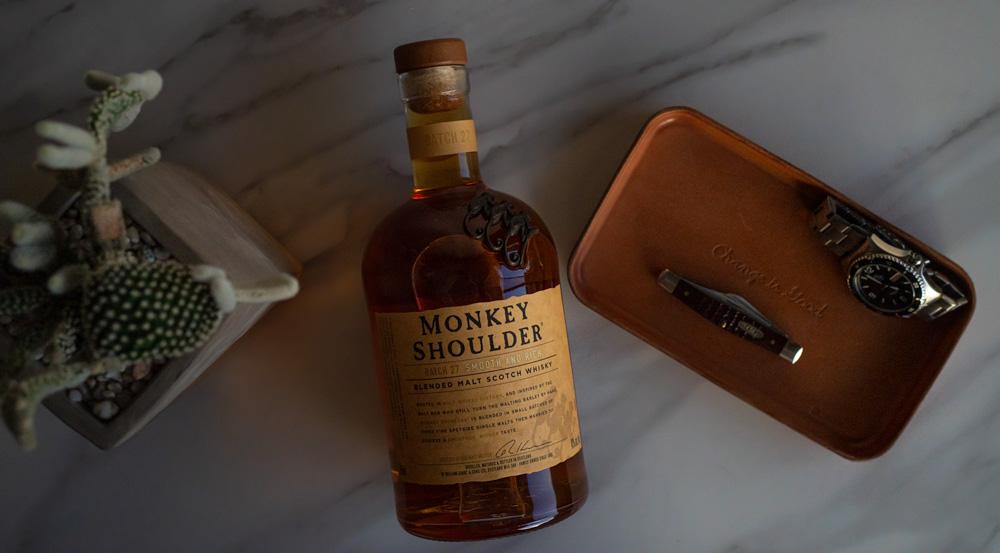 best whiskey - monkey shoulder scotch