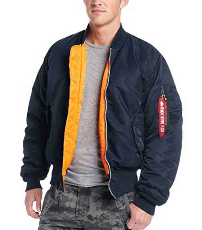 alpha industries ma 1 bomber