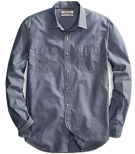 Chambray shirt from Amazon