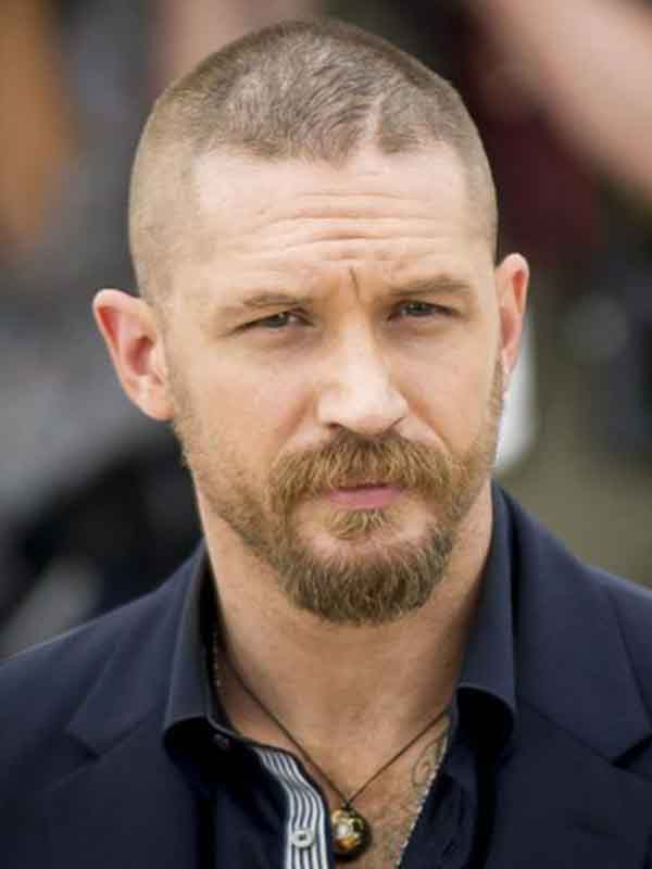 tom hardy short hairstyle spring