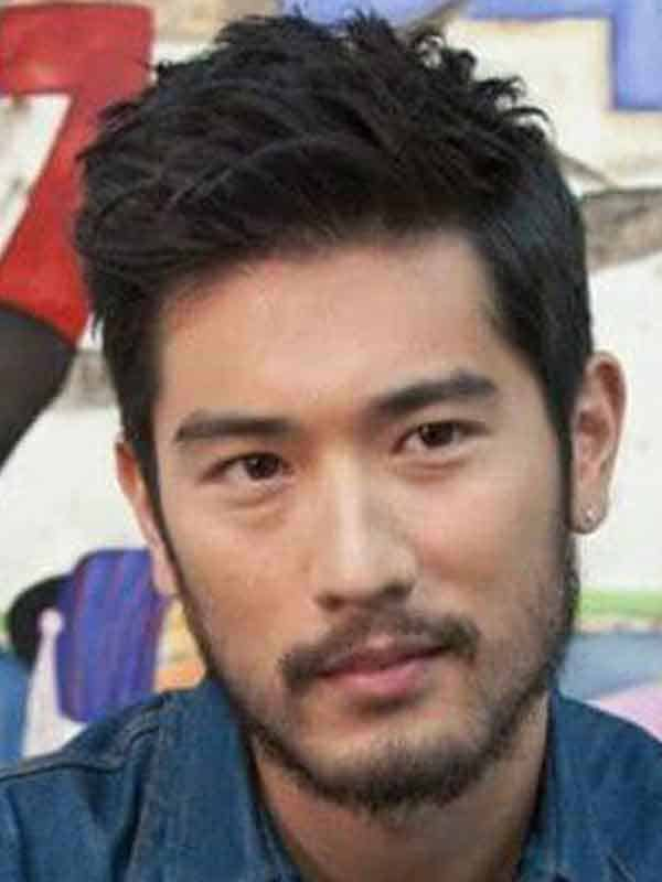asian man spring hair styles with beard