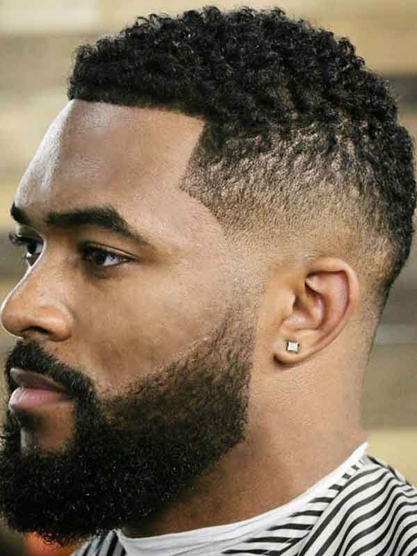 short spring hairstyle black men