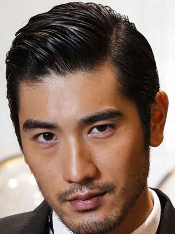 asian man spring hairstyle