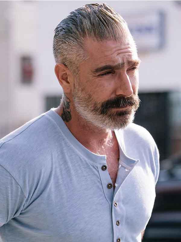 spring hairstyles for men with gray hair