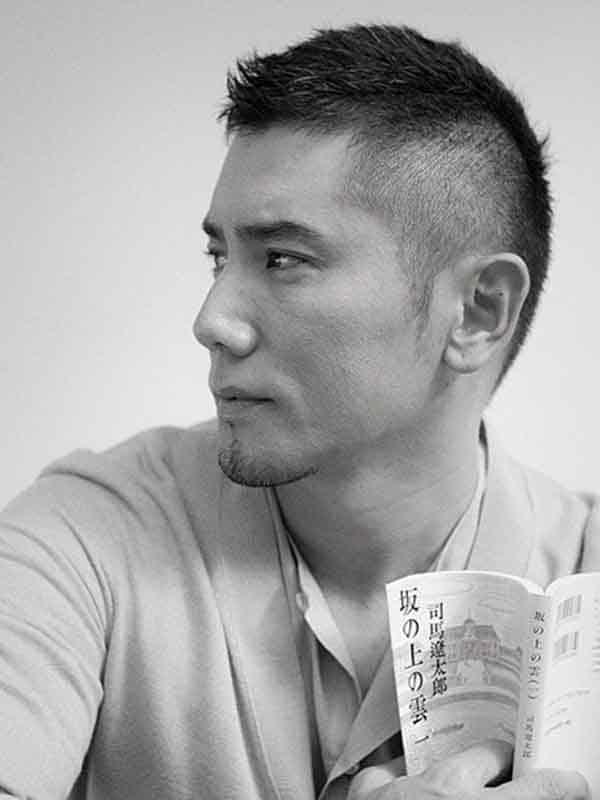 asian man spring hairstyle