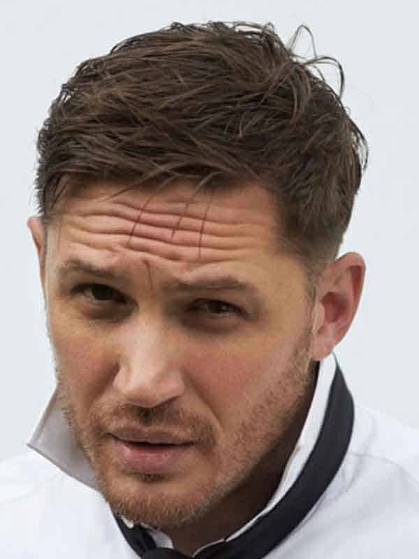 tom hardy short haircut