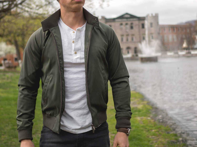 The $29 Uniqlo Harrington Jacket | Primer