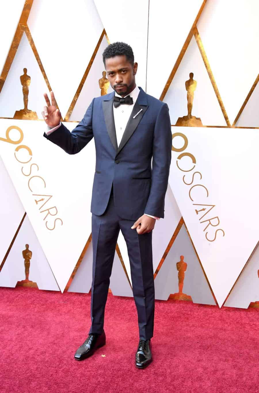 Image of Lakeith Stanfield wearing tuxedo