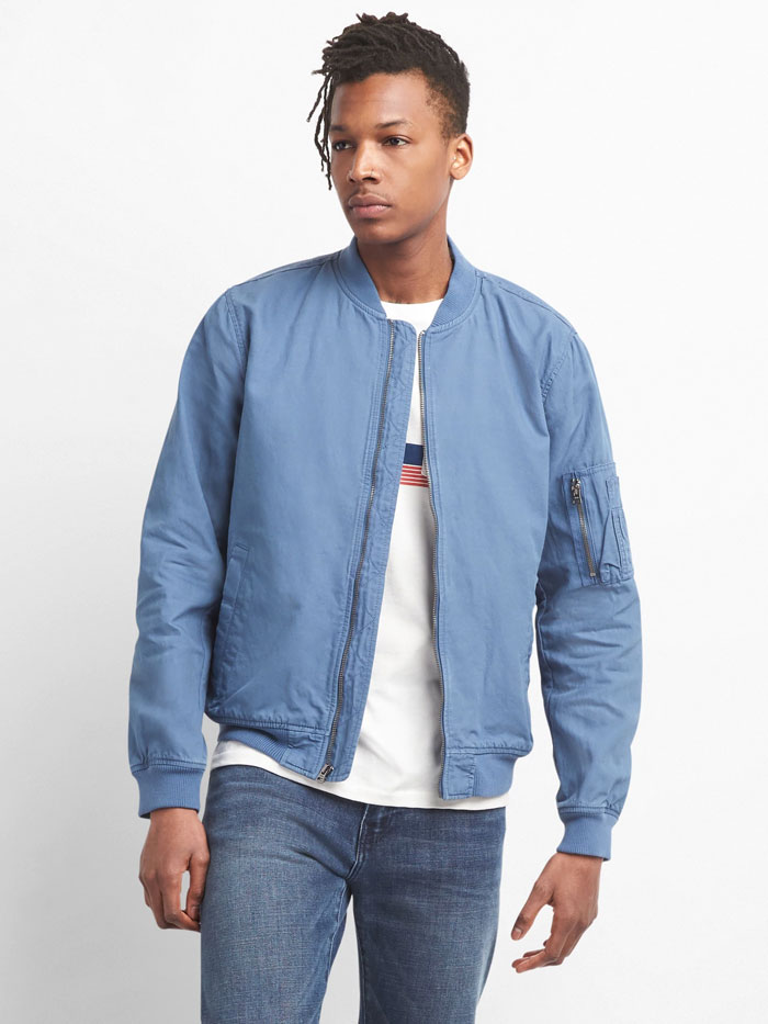 Image of mens bomber jacket