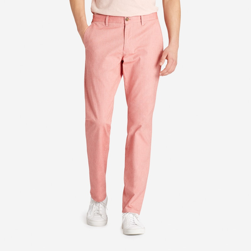 Image of mens stretch chino pants