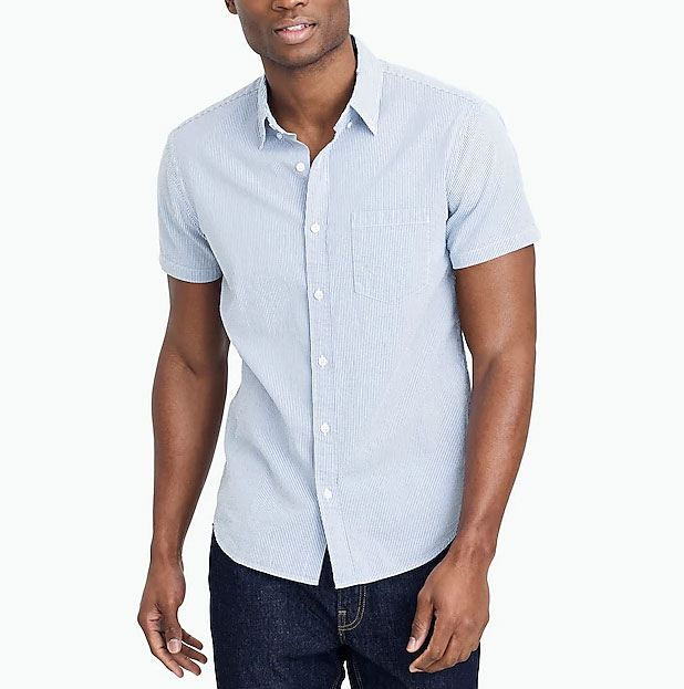 Image of mens short sleeve shirt