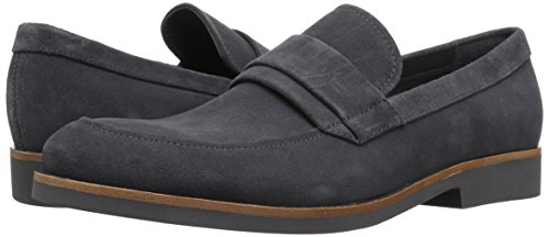 Image of Calvin Klein calf suede slip on loafers