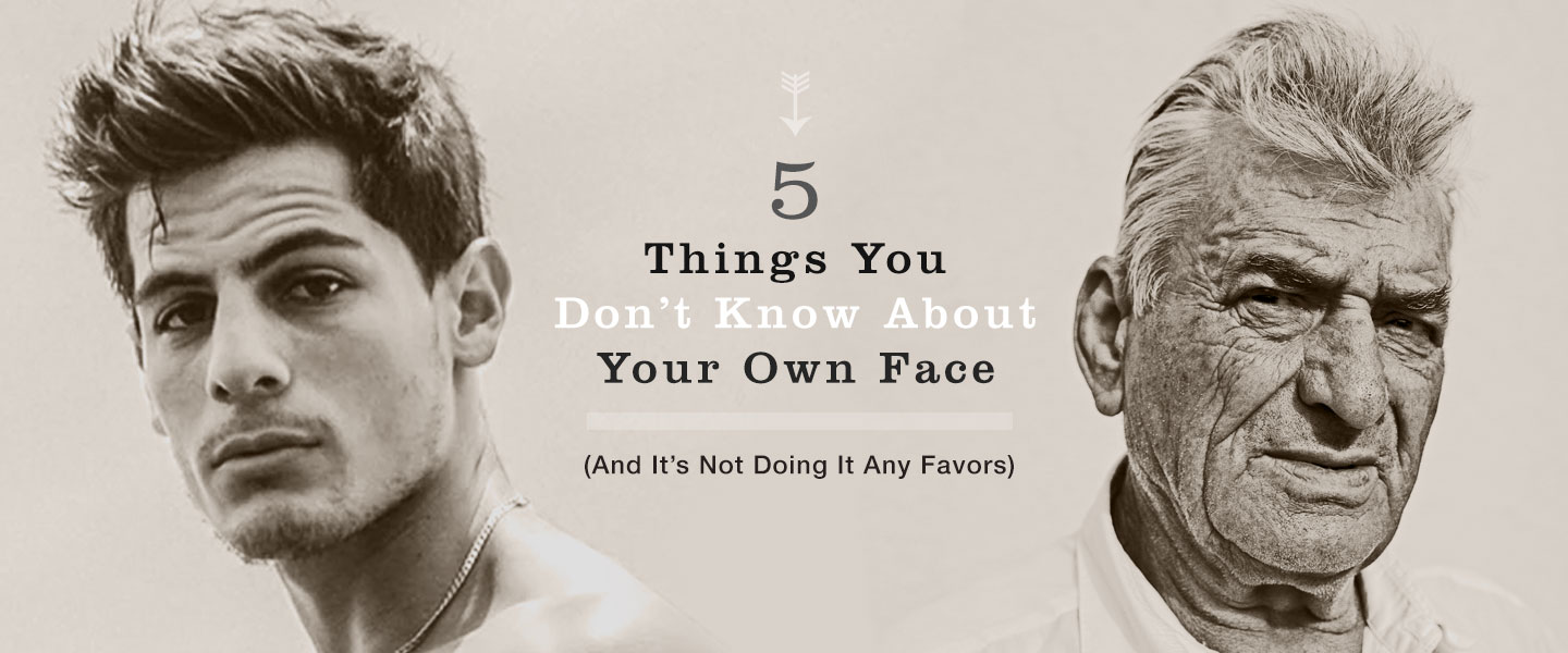 5 Things You Don't Know About Your Own Face (And It's Not Doing It Any Favors)