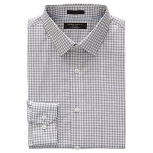 Gray gingham shirt