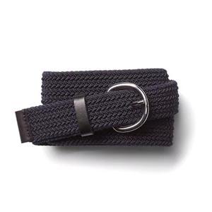 Gray web belt