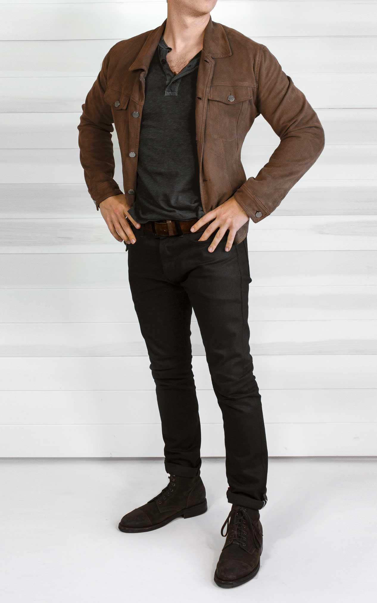 han solo inspired outfit from Solo brown jacket