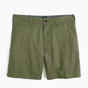 Green olive shorts
