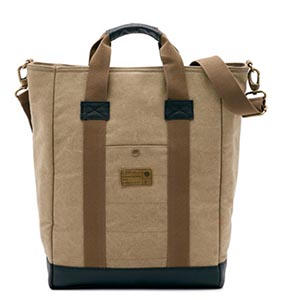 Tan bag with strap