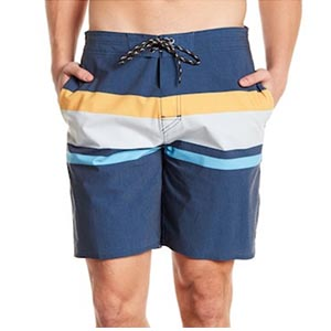 Blue swim trunks