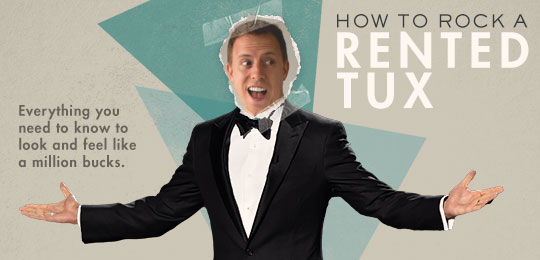 How To Rock A Rented Tux