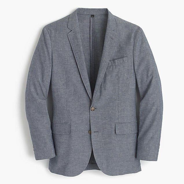 Image of J.Crew Ludlow slim fit cotton linen suit jacket