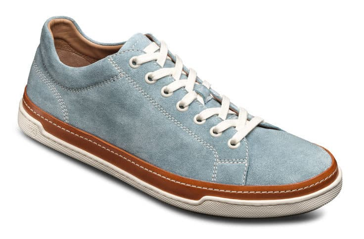 Image of Allen Edmonds porter suede derby sneaker