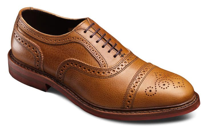 Image of Allen Edmonds strandmok cap top oxford shoe