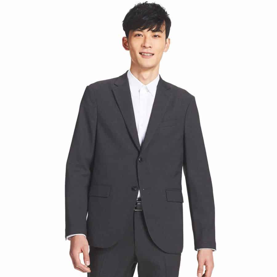 Image of man wearing Uniqlo Kando jacket