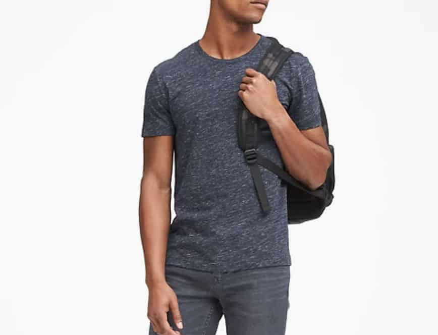 banana republic tech tee