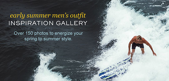 Early Summer Men's Outfit Inspiration Gallery