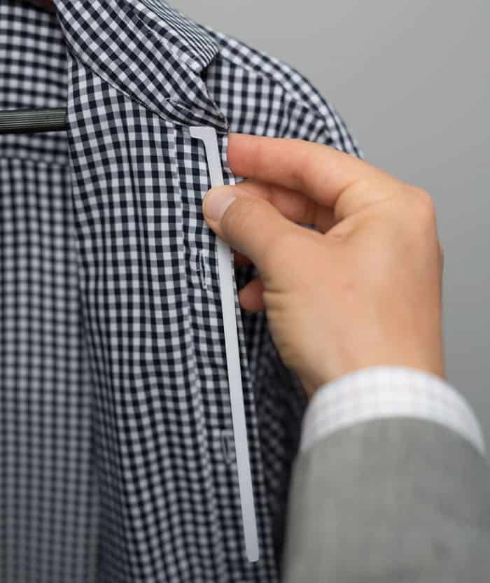 what is a placket stay million dollar collar