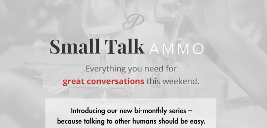 Small Talk Ammo: Jurassic Park is Old, BYO Toilet to Korea, and The World's Oldest Cat