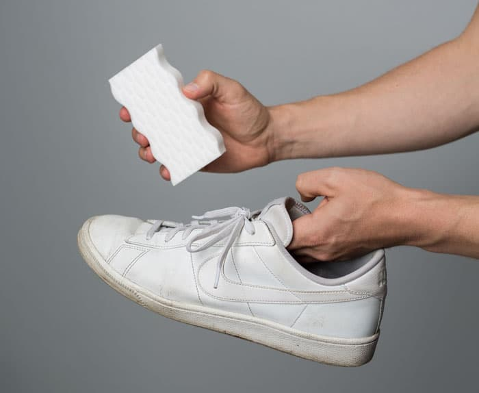 how to clean white sneakers magic eraser