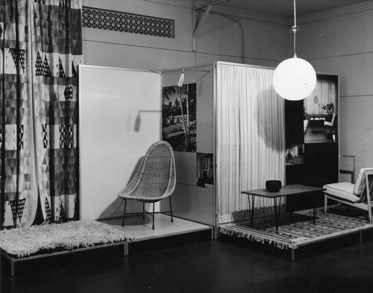 Image of the Design in Scandinavia exhibition from Brooklyn Museum