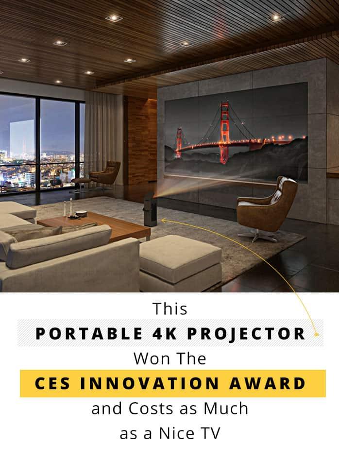 LG CineBeam 4K Projetor