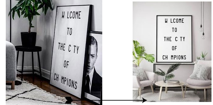 Image of Welcome To The City Of Champions wall decor
