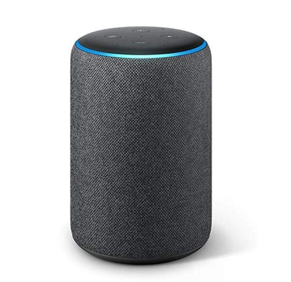 A close up of a speaker