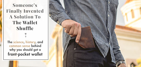 Someone's Finally Invented A Solution To The Wallet Shuffle